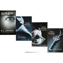 Audiolibros 50 Sombras De Grey. Colección Completa, 4 Libros