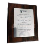 Diplomas Y Reconocimientos Con Grabado Láser (mediano)