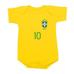 Camiseta Da Seleção Brasileira Juvenil - Bebês no Mercado Livre Brasil 60937890ffc16
