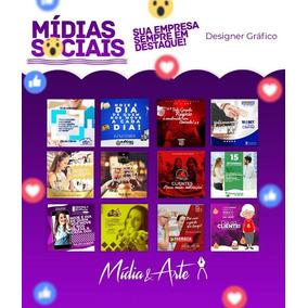 Criação De 2 Artes Para Post No Facebook Instagram Banner