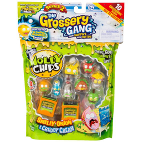 Grossery Gang Smelly Onion Cruddy Cream 10 Fig Sorpresa Edu