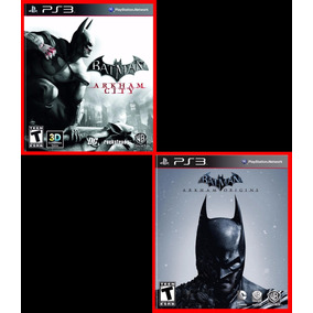 Combo Batman: Arkham City E Arkham Origins Ps3 Psn Promocao