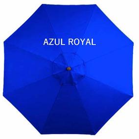 Ombrelone Lateral Quadrado Girat. Floreira Azul R. 2x2 Sm-06