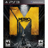 Metro - Last Light Ps3