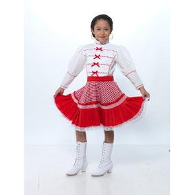 Vestido Regional Tamaulipas Talla 2 A La 10 100%algodón