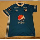Camiseta De Millonarios #22 #j Duque Marca adidas, Talle L