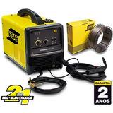 Conarco Esab Soldadora Dual Inverter Mig 200 Sin Gas Alambre
