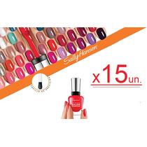 Esmalte Sally Hansen Salon Manicure X 15un. Oferta!