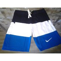 3 Bermuda Moletom Nike Masculina Atacado