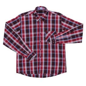 0b314be48 Camisa Xadrez Masculina - Camisa Manga Longa Masculino em Patos de ...