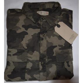 Camisa Camuflada Zara Niño