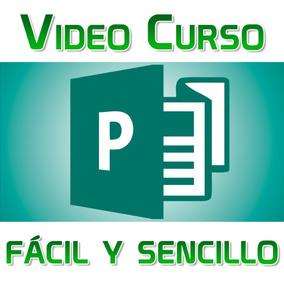 Video Curso Publisher 2016 Desde Cero,, Sencillo Fácil