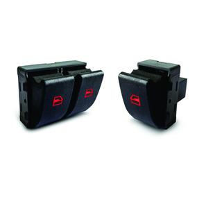 Botao De Vidro Eletrico Fox Gol G4 G5 G6 Duplo E Simples