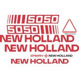Adesivo Colheitadeira New Holland 5050