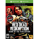 Red Dead Redemption Xbox 360 / One - Envío Gratis