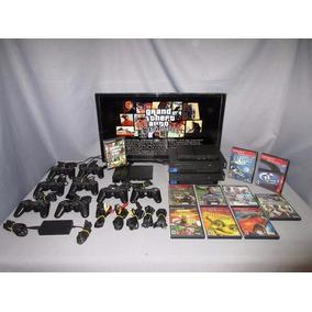 Consola Playstation 2 Con 2 Juegos A Escoger God Of War Ps2