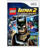 Wii Lego Batman 2 Dc Super Ella