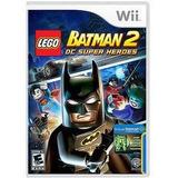 Wii Lego Batman 2 Dc Super Ella