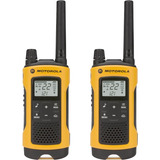 Rádio Comunicador Talkabout Motorola 35km T400br Amarelo