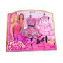 Set De Ropa Vestidos Y Accesorios Barbie Life Fashion Mattel