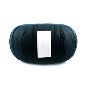 Zafú - Almofada Para Meditação Brim Preto (com Enchimento)