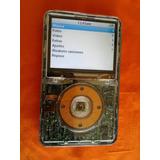 Ipod Clásico 30gb Carcasa Transparente