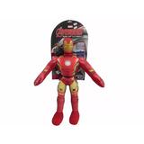 Muñeco Soft Iron Man Marvel Original New Toys