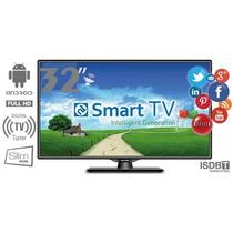 Smart Tv Sistema Android Led 32 Polegadas Promo