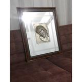 Espejo Decorativo Corazón De Jesús (obra Artística)