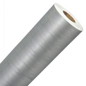 Adesivo Aço Escovado 1 X 3m Inox
