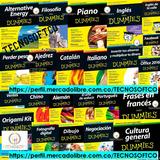 110 Libros Dummies Completos En Pdf E-books Digital + Bono