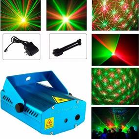 Laser Lluvia Multipunto Rojo Verde Audioritmico Efecto Dj