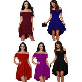 Vestidos Azul Rey Vino Rojo Negro Tallas Extras Corto Largo
