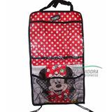 Organizador De Auto Con Porta Tablet Disney Minnie