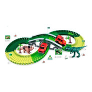 Pista Flexible Dino Track Cars Original Next Point