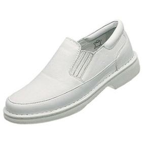 Sapato Branco P/ Veterinario Enfermeiro Dentista Medico