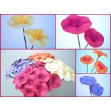 Sinos:ramos De Hermosas Flores De Foami En Bellos Colores
