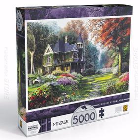 Quebra Cabeça Puzzle Jardim Vitoriano 5000 Peças Grow