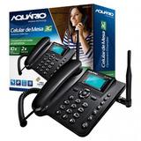 Telefone Celular Rural De Mesa Aquário Ca-40 3g Original