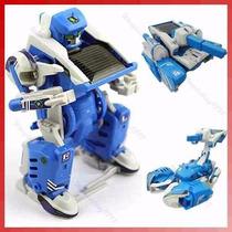 Juego Juguete Didactico Kit Solar Robot,panel Solar 3 En 1