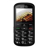 Celular Vita Ii Para Idoso Barra, Preto, Dual Chip, Câmera,