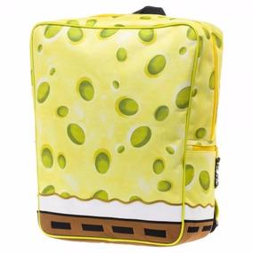 Spongebob Squarepants Mochila Backpack Bob Esponja