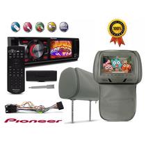 Dvd Player Pioneer Dvh-7880av Rca Usb Aux Encosto De Cabeca
