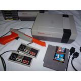 Consola Nintendo Nes Original 1985 Set Completo Abuelogamer
