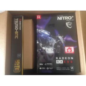 Tarjeta Nitro Radeon Rx 580 8gb Overclock Nuevo En Su Caja.