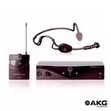 Microfone Sem Fio Akg Pw Sset B2 45 Auricular Cabeça