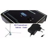 Transmissor De Fm Kit Completo, 1 Watt, Pll, Estéreo,tx890fm