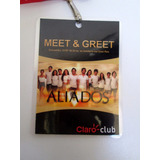 Credencial Acreditacion Aliados Meet And Greet Boedo Capital