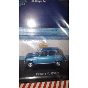 Renault 4l, Autos Inolvidables, Salvat, 1/43 Nuevo
