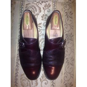 Zapatos Italianos Vito Ruffolo Estilo Monk Talla 8.5 Mex